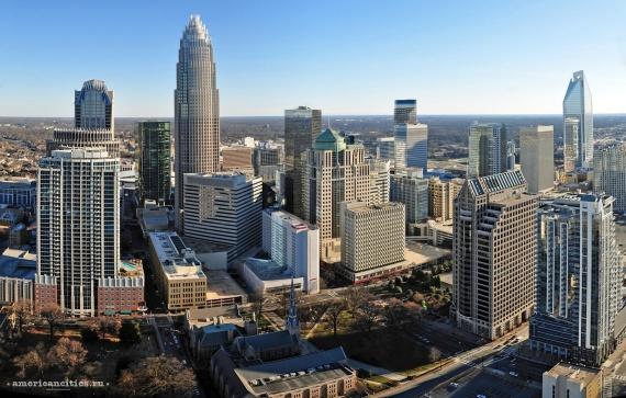 Шарлотт — современный мегаполис