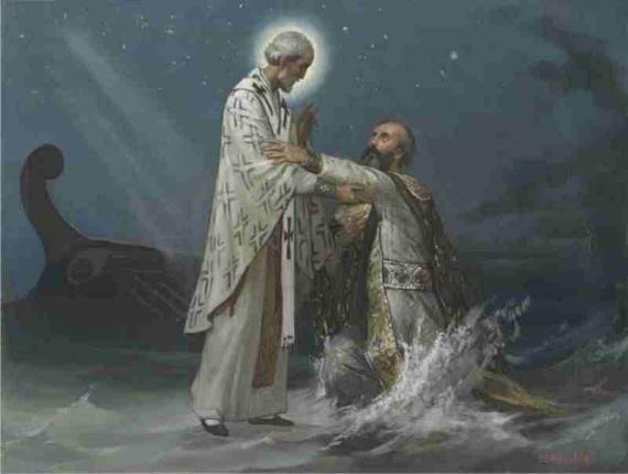 Святитель Николай в живописи