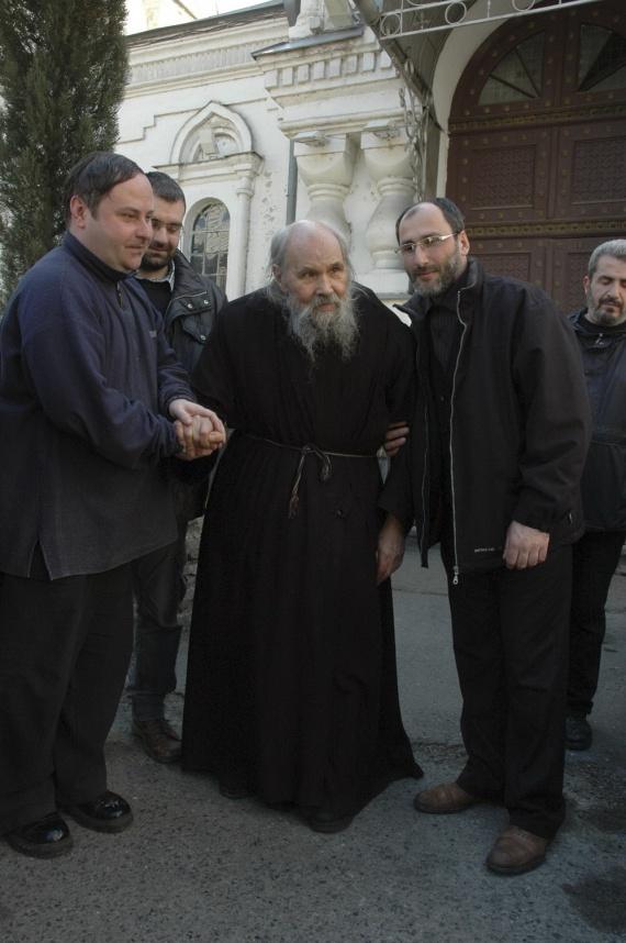 Памяти одного из последних Глинских старцев - архимандрита Филарета (Кудинова)