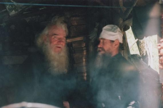 Монах Кассиан и архидиакон Пимен