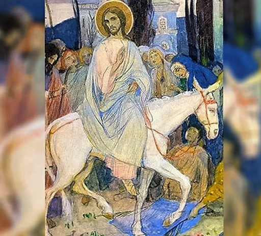 Вербное воскресение в поэзии
