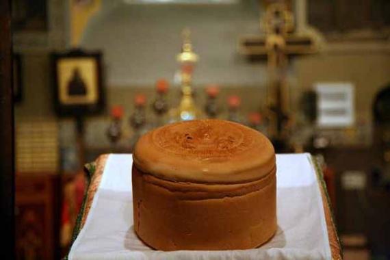 Артос, хлеб вечной жизни